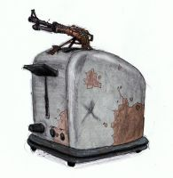 Post apoc Toaster by wetcorps