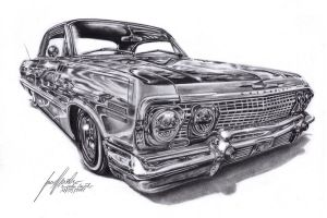Chevrolet Impala Lowrider by Lowrider-Girl