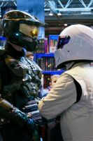 The Master Chief and The Stig by Takeshi-Toga