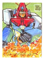 Combattra V Sketch Card by fbwash