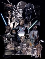 Star Wars: Original Trilogy by happydragonpictures