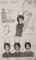 Index Card: Gamzee by SomeoneWhoDoodles