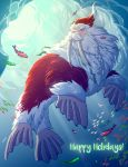 Walrus Claus by tamiart