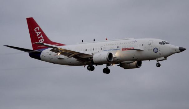 Boeing 737-300 CATB by shelbs2