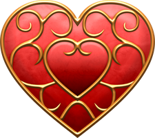 SS Heart Container by BLUEamnesiac