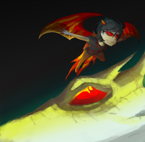 Flying with the Dragon by ippotsk