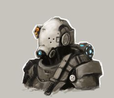 Future Soldier Scketch by FonteArt