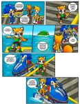 Sonic Rush Adventure Issue 1 Page 15 by RushDraik