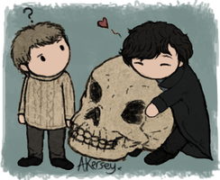 Mrs Hudson took his skull... by Deesney
