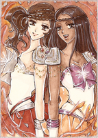 C: Diotima and Astraea by ann4rt