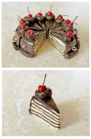 Chocolate Layer Cake by LolitaPopShop