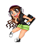 Chibi DjXRex by jazzy2cool