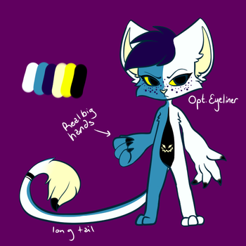 Leani the Monster Cat by Derpmaster28