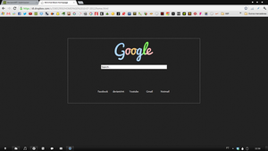 Minimal Black Homepage by Paulo1471