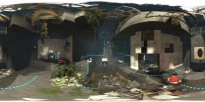 Portal 2 360 Panorama by wasted49