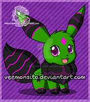 Vensa the Eevee by Veemonsito