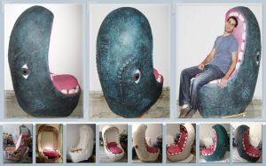Monstrous design armchair by erez-mor
