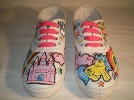 My Little Pony Shoes by MissGriss