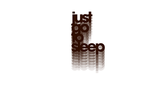 just go to sleep -inverted- by Sajextryus