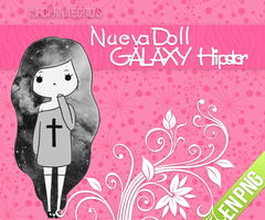 Doll Galaxy Hipster by JhoannaEditions