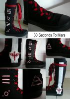 30 Seconds to Mars Boots by Ramelia-Images