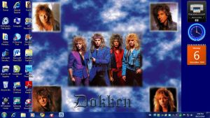 My Dokken Desktop by MadCanuckster