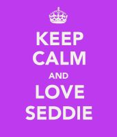 Keep Calm and Love Seddie by popgirlnina23