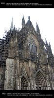 Cologne cathedral 14 by Mithgariel-stock