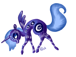 Paper Cut Luna by PashaPup