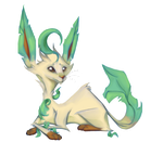 Leafeon by Yvevi