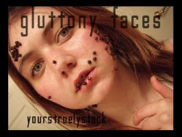 Gluttony Faces Pack by YoursTruelyStock