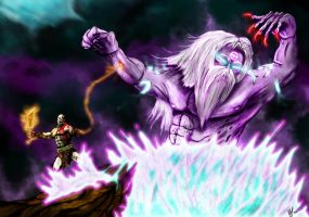 Zaros Vs Kratos by l3nbak
