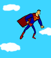 Superman Wedgie by SplendorEnt
