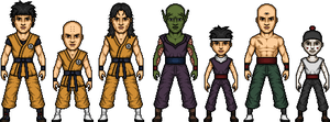 Z-Warriors (Saiyan Saga) by MicroManED