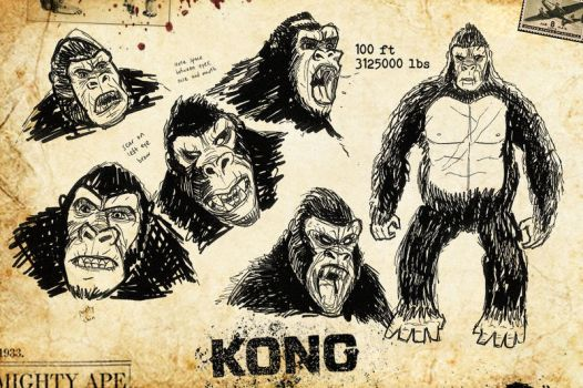 Kong Studies by Kyber02