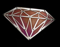 Diamond belt buckle by Vor4