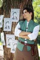 Flynn Rider: Wanted DEAD or ALIVE by lucien-fleurier