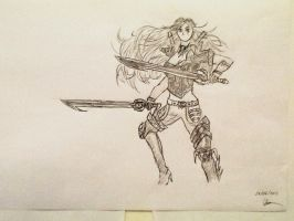 Katarina the Sinister Blade by SighsOnWindyDays