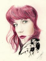 Florence Welch by hollybluue