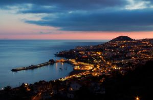 Funchal by Night by konceptsketcher