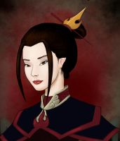 Portrait - Azula by arielmc2