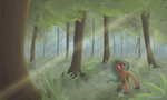 Painting for Mlp-lpslover by GlacialFalls