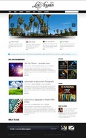 Los Angeles - Wordpress Theme by escapepodone