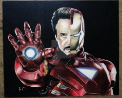 Ironman by flying-muffin