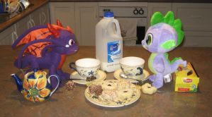Dragon Tea Party by CheerBearsFan