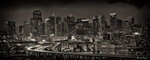 San Francisco Skyline V by tt83x