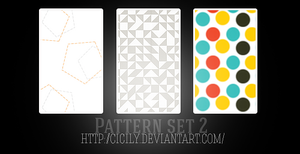 Pattern set 2 by cicily