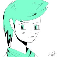 Jake English Without His Glasses Ok by Arkannix