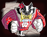 Bucky Badger commission by MichaelJLarson