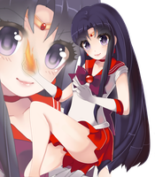 I Know What to Do [Sailor Mars] by Aliyune
